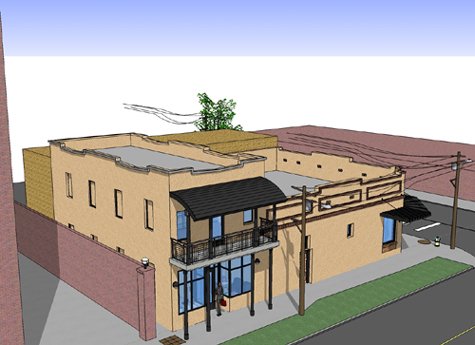 Historic Ybor City Project - Office Building - Concept Drawing 1